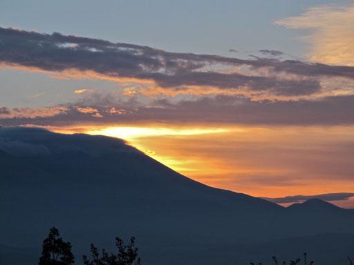 Sonnenaufgang am Berg Olymp - die Antike zeigte ihr Gesicht