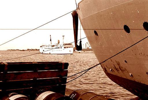 Überfahrt von Grossenbrode nach Gedser in Dänemark