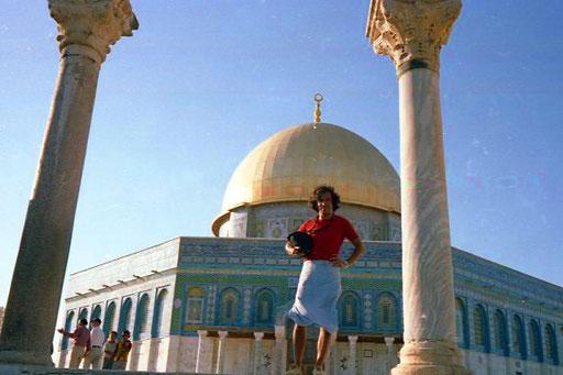 die äussere Form des Felsendoms macht Jerusalem zu einem Welt-Ereignis