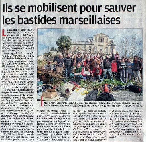La Provence 12/03/2013