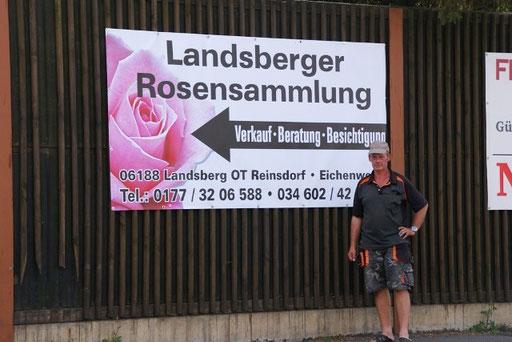 B100 - 1.Ampelkreuzung links nach Landsberg/ Gewerbegebiet