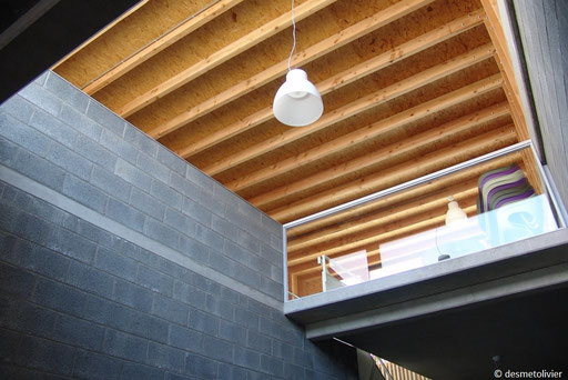 structure bois apparente