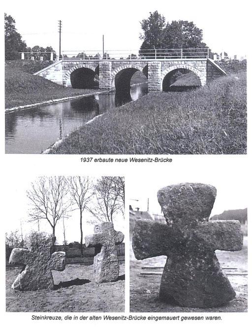 Bild: Teichler Seeligstadt Sachsen Neue Wesenitzbrücke in Rennersdorf 1937