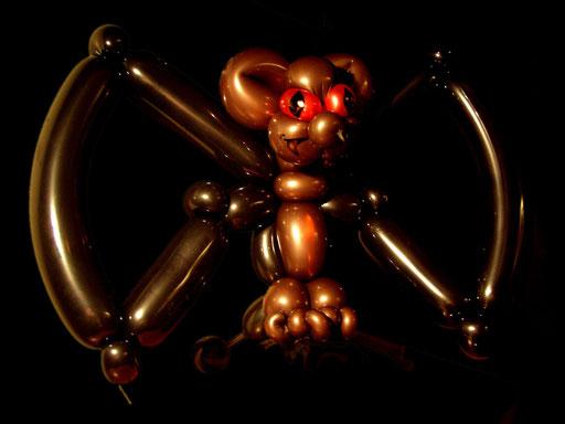 """sculpture de ballons """"chauve-souris"""""""