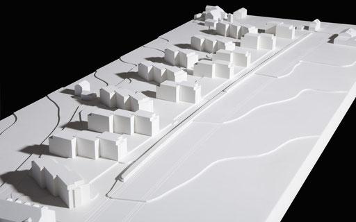 Modell Arealentwicklung Nesslerenweg, Wabern