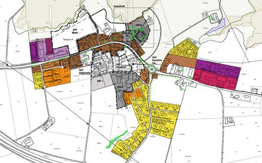 Zonenplan Dorf
