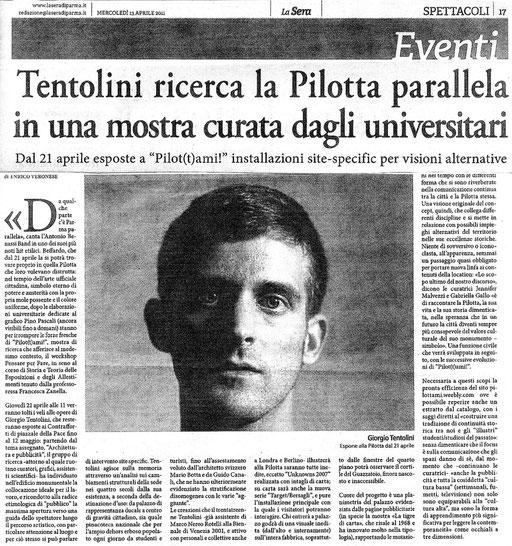 LA SERA di Parma - 13/04/11