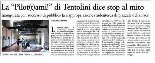 LA SERA di Parma 21/04/11