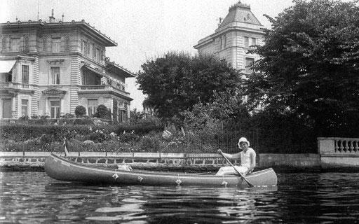 Villa Kramer und Villa Flemming, Bellevue, 1927