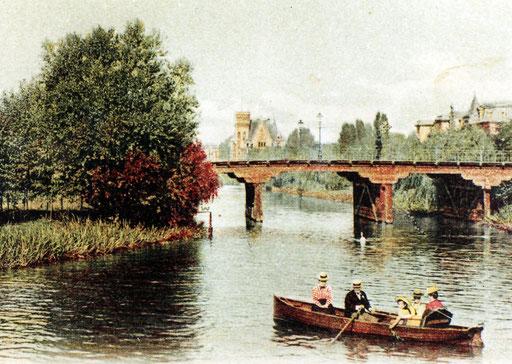 Fernsichtbrücke um 1892