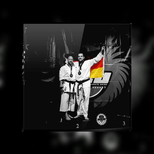 Erol Alp und Gregor Bär sind Vizeweltmeister im Taekwondo