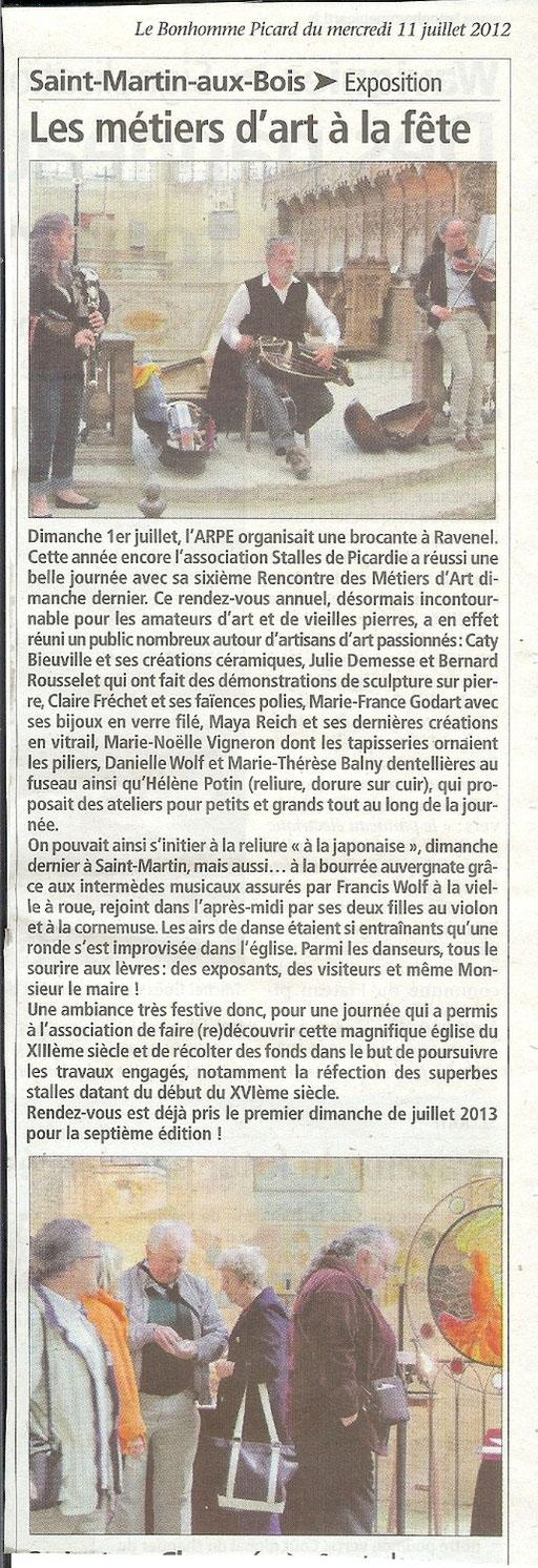 Le Bonhomme Picard 11 juillet 2012