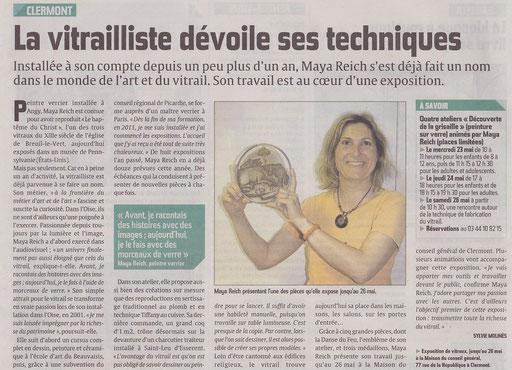 Le Courrier Picard 15 mai 2012