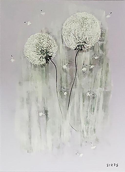 Herbststimmung, Aquarell