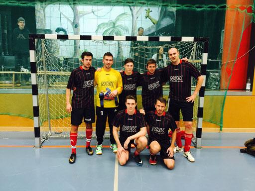 Sensationeller 2. Rang am Swiss Indoor Futsal Tournament in Oberrohrdorf 2015
