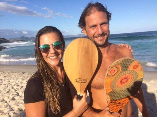 Leo Fred Tavares und Patrizia Baldoni