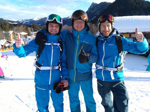 Philip & Armin (Jugendleiter) & Michael