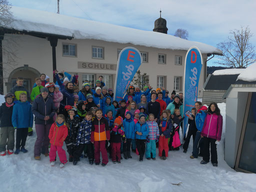 3-Tages-Skikurs 2019 in Jungholz mit den neuen Beachflags