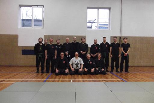 Teilnehmergruppe mit Buyu aus Neuhaus, Marl, Dortmund, Diusburg, Bochum und Herne.