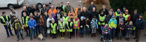 Umwelttag des Bürgerverein Bützfleth 29.03.2014