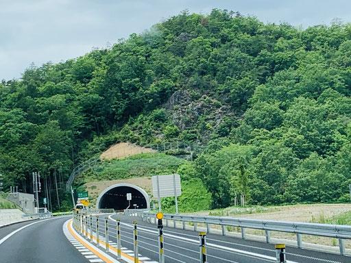 9㎞の中にトンネルが5か所