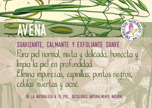 jabón natural de avena-cosmética natural ecológica