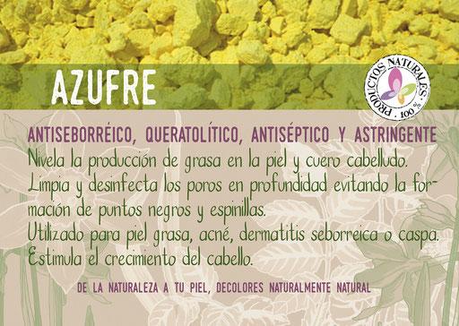 jabón natural de azufre-cosmética natural ecológica