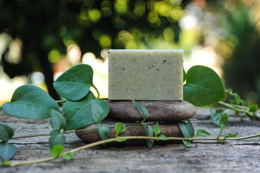 jabón de arcilla verde-cosmética natural ecológica-decoloresnatur