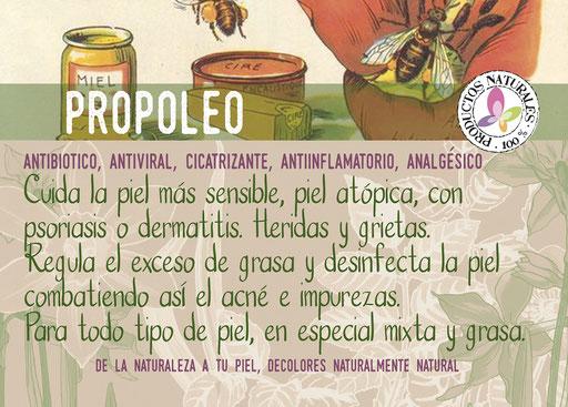 jabón de propóleo-cosmética natural ecológica-decoloresnatur