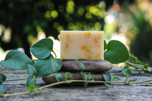 jabón de caléndula-cosmética natural ecológica-decoloresnatur