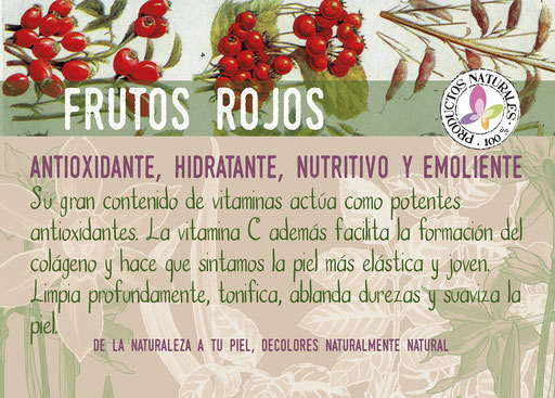 jabón de frutos rojos-cosmética natural ecológica