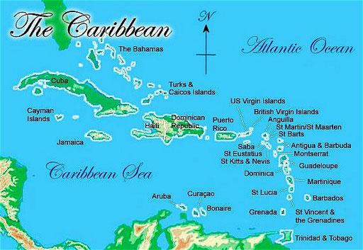Aruba Puntasalinas Jimdo Page - Aruba map of us