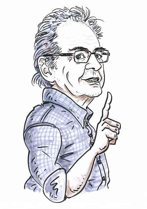 karikatur  foto porträt