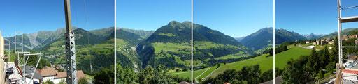 Aussicht Crest La Geina 2005 Cumbel Lumnezia