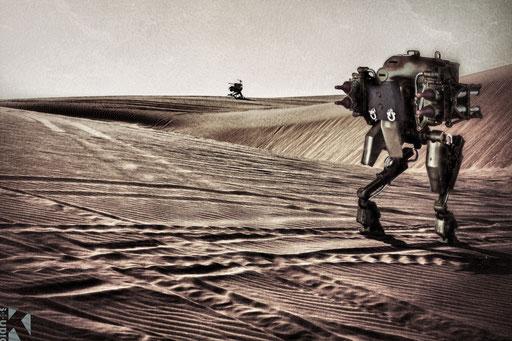 English Long Range Desert Group / Bir Al Ghanam (Lybia) / March 1947