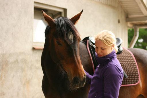 Pferdeosteopathie & Pferdeosteopathin | Osteopathie & Osteopathin Mareike zur Borg