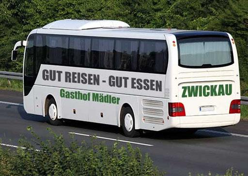 Bus Busreise Zwickau Gasthof Mädler