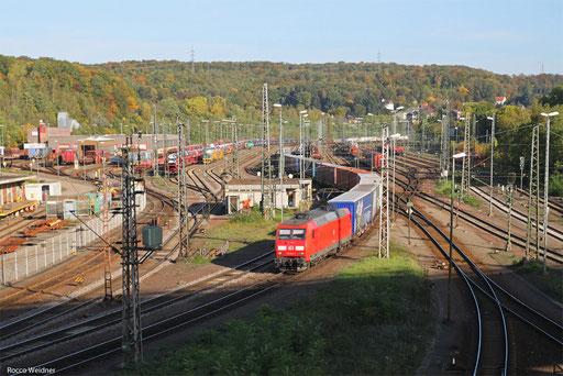 145 014 mit GA 60094 Saarbrücken Rbf Nord - Köln-Niehl