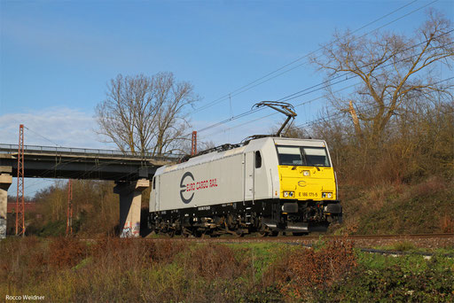 186 171 als T 67020 Ehrang Nord - Saarbrücken Hbf