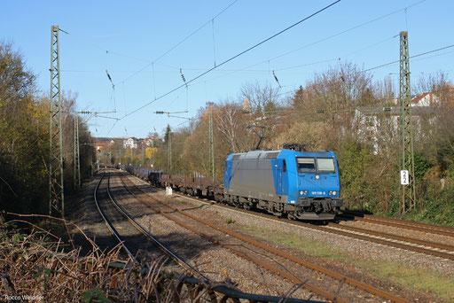 185 518 mit DGS 95377 Ehrang Nord - Oberhausen West Orm