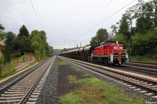 nicht alltäglich sind solche Streckenleistung für die Saarbrücker Rangierloks, 294 741 mit GB 62490 Dillingen - Kirn,  mit Schubunterstützung durch 186 334, Dudweiler 27.09.12