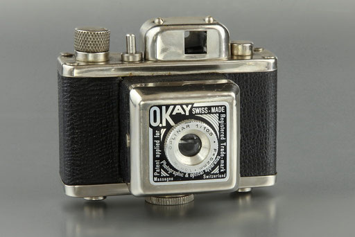 O.KAY Kamera Swiss-Made  1946   © engel-art.ch