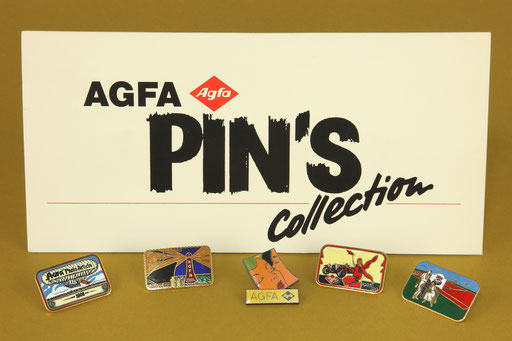 AGFA Pins Collection   © engel-art.ch