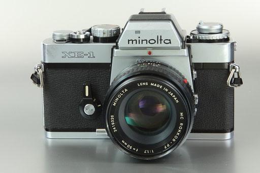 MINOLTA XE-1  ©  engel-art.ch