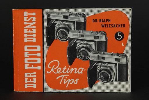 Der Foto Dienst Retina Tips Dr.Ralph Weizsäcker 1956   ©  engel-art.ch