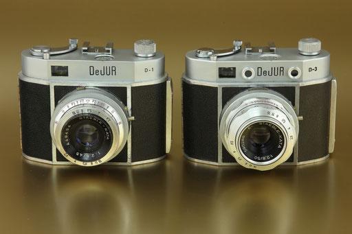 DeJUR  D-1  &  D-2  Fa. Amsco NY  1955/1957  ©  engel-art.ch