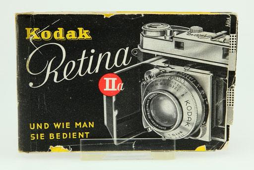 KODAK Retina IIa Gebrauchsanleitung  ©  engel-art.ch