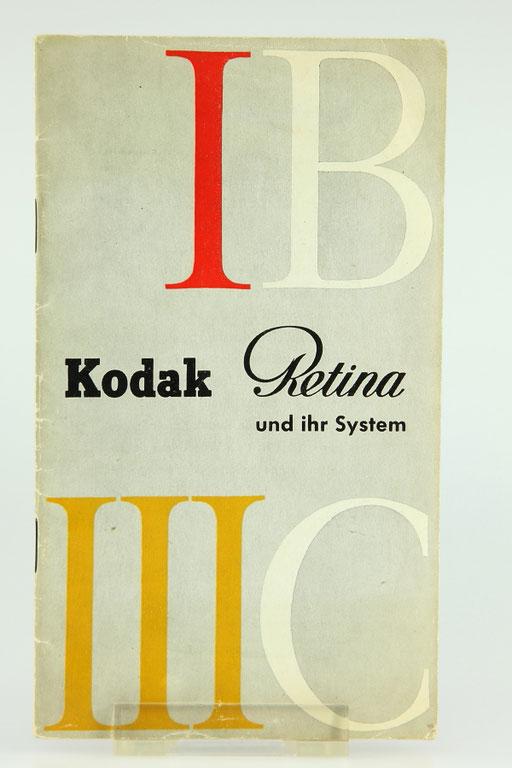 KODAK Retina Prospekt 1B / IIIC    ©  engel-art.ch
