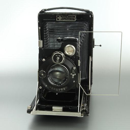 Patent Etui  Kamera Werke Dresden   ©  engel-art.ch