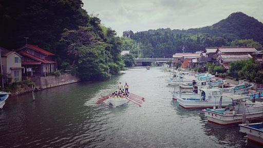 八尾川 カッター訓練